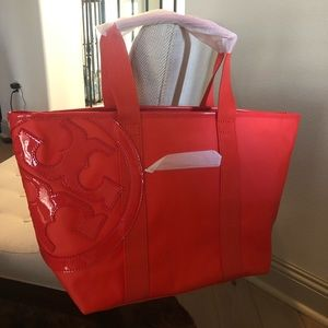 Tory Burch Canvas Tote Bag NWT